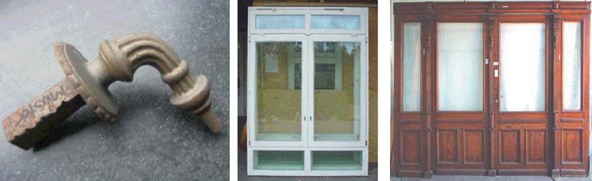 Tuergriff, Schaufenster, Doppelschwingtuer, Wohnungsabschlusstuer