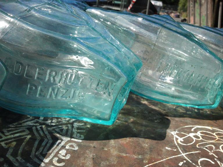 Glasbausteine von Gustave Falconnier in der Bauteilbörse Hannover