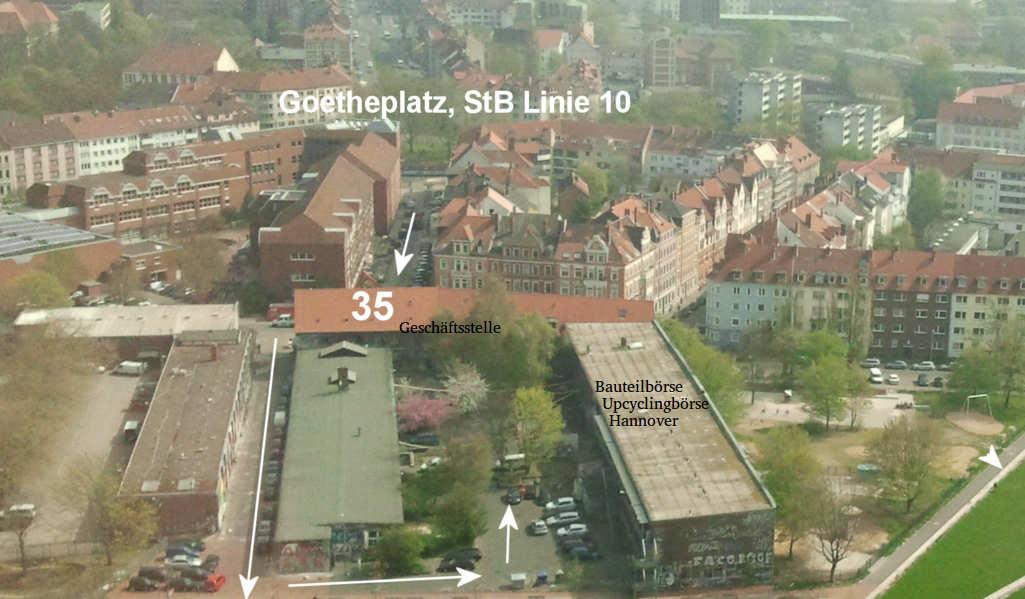 Anfahrt Bauteilboerse Hannover