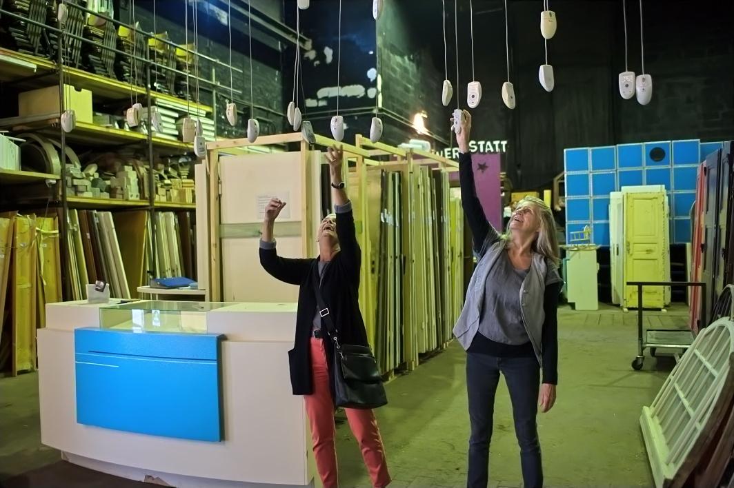Bauteilbörse Hannover, Blick ins Lager