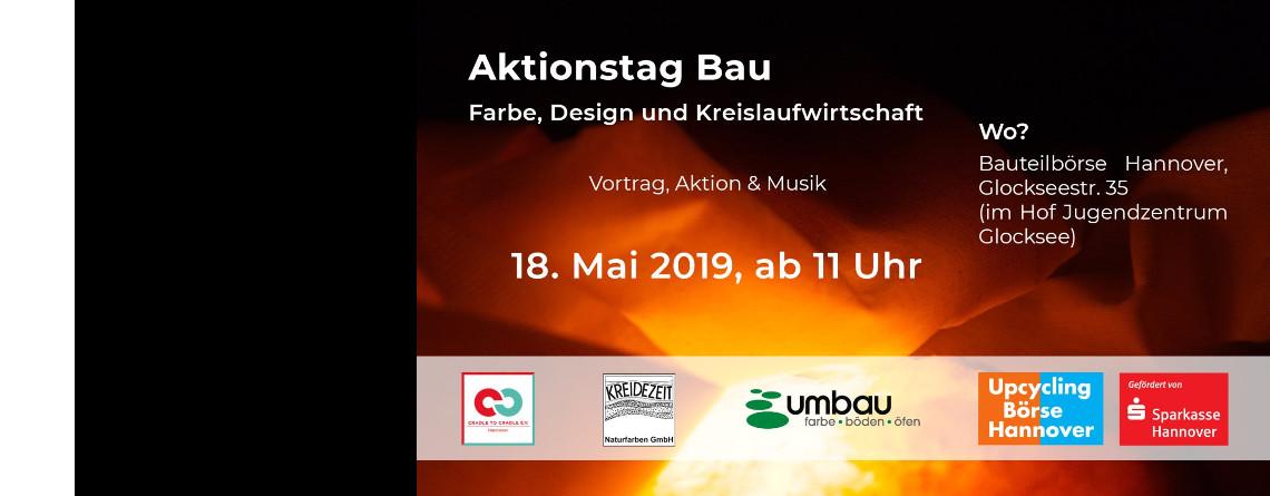 Aktionstag Bau: Farbe, Design und Kreislaufwirtschaft